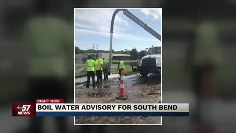 Break in water main on South Bend's west side leads to advisory